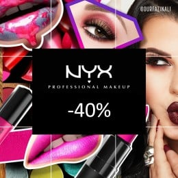 NYX Cosmetics valik -40%