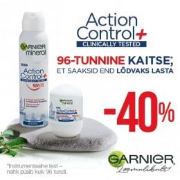 Garnier Action Control Deodorandid -40%