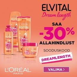 L'Oreal Paris Elvital Dream Length -30%
