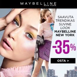 Maybelline kuni -35%