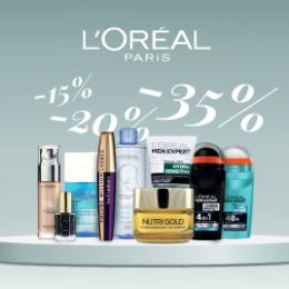 L'Oreal Paris kuni -40%