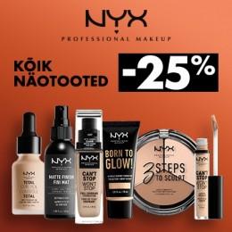 NYX Cosmetics näotooted -25%