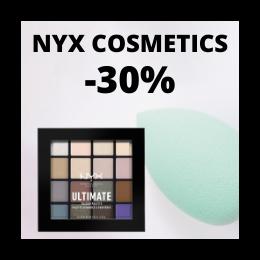 NYX Cosmetics -30%