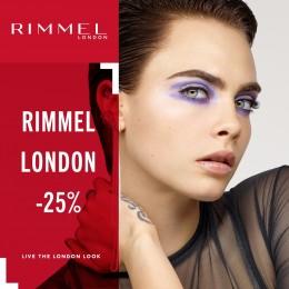 Rimmel London -25%