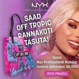 NYX Cosmetics kingitus!