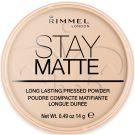 Rimmel London Stay Matte Long Lasting Pressed Powder (9g) 003 Peach Glow