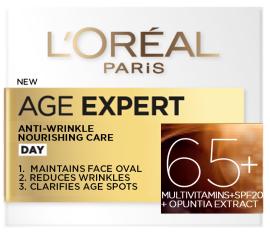 L'Oreal Paris Age Specialist Anti-Wrinkle Nourishing Day Cream +65 (50mL)
