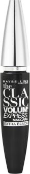 Maybelline New York The Classic Volum' Express Extra Black Mascara (10mL) 005 Extra Black