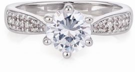 Buckley London 6 Claw Solitaire Ring CZR523S