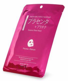 Mitomo Placenta & Platinum Essence Mask (25g)