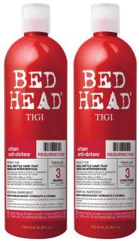 Tigi Bed Head Urban Anti+Dotes Resurrection Duo (2x750mL)