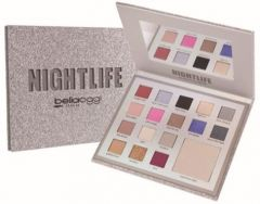 Bella Oggi Glitter Palette Paper Collection Nightlife