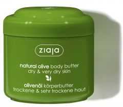 Ziaja Natural Olive Body Butter for Dry & Very Dry Skin (200mL)