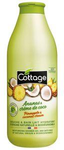 Cottage Bath&Shower Gel Ananas & Coconut (750mL)
