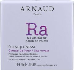 Arnaud Paris Eclat Jeunesse Rejuvenating Day Cream for All Skin Types (50mL)