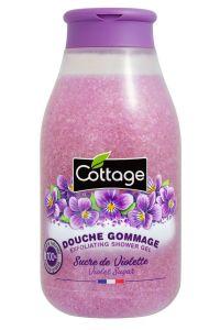 Cottage Exfoliating Shower Gel Violet (250mL)