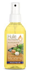Prephar Macadamia Oil for Face, Body , Hair (100mL)