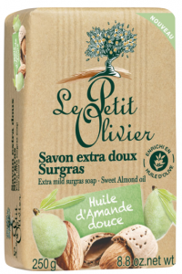 Le Petit Olivier Extra Mild Soap Sweet Almond Oil (250g)