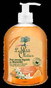 Le Petit Olivier Pure Liquid Soap of Marseille Orange Blossom (300mL)