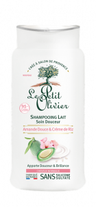 Le Petit Olivier Shampoo Gentle For Normal Hair Sweet Almond & Rice Cream (250mL)