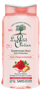 Le Petit Olivier Oil Shampoo Protective for Coloured and Highlighted Hair Argan Oil & Pomegranate (250mL)