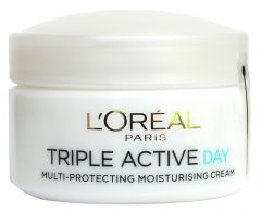 L'Oreal Paris Triple Active Multi-protection Moisturiser Day Cream (50mL) Normal and Combination Skin