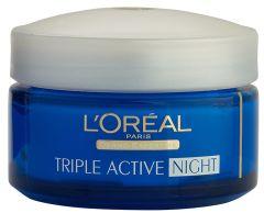 L'Oreal Paris Triple Active Moisturising Night Cream (50mL) All skin types