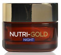 L'Oreal Paris Nutri Gold Intense Nutrition Night Rich Cream (50mL)