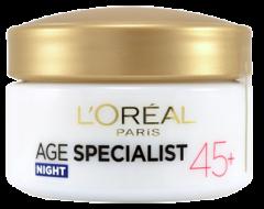 L'Oreal Paris Age Specialist 45+ Anti-Wrinkle Lifting night cream (50mL)