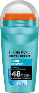 L'Oreal Paris Men Expert Cool Power Roll-on Deodorant (50mL)