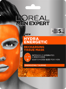 L'Oreal Paris Men Expert Hydra Energetic Tissue Mask (30g)