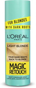 L'Oreal Paris Magic Retouch Dark Root Concealer Spray (75mL) Light Blonde