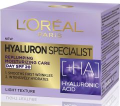 L'Oreal Paris Hyaluron Specialist Replumping Moisturising Day Cream With Hialuronic Acid SPF 20 (50mL)