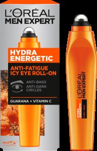 L'Oreal Paris Men Expertise Hydra Energetic Roll-on Eye Cream (10mL)