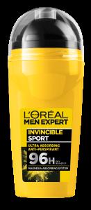 L'Oreal Paris L'Oreal Men Expert Invincible Sport Roll-on Deodorant (50mL)