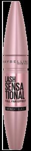 Maybelline New York Lash Sensational Midnight Black Rose Edition Mascara (9,5mL) Midnight Black
