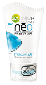 Garnier Neo Soft Cotton Intensive Antiperspirant Invisible Dry-cream (40mL)