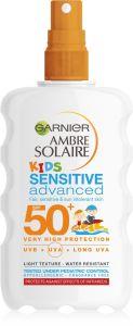 Garnier Ambre Solaire Kids Sensitive Advanced Protection Spray SPF50 (200mL)