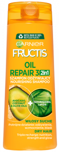 Garnier Fructis Oil Repair 3 Nourishing Shampoo for Dry Hair (400mL)