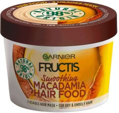 Garnier Fructis Hair Food Macadamia Smoothing 3-in-1 Mask for Very Dry Hair (390mL)