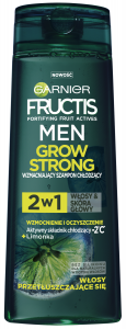 Garnier Fructis Men Grow Strong Shampoo Lemon (300mL)