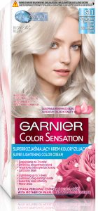 Garnier Color Sensation Permanent Hair Colour S11 Ultra Smoky Blond