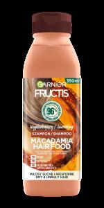 Garnier Fructis Hair Food Macadamia Smoothing Shampoo for Very Dry Hair (350mL)