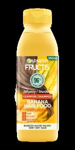 Garnier Fructis Hair Food Banana Nourishing Shampoo for Dry Hair (350mL)