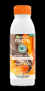 Garnier Fructis Hair Food Papaya Repairing Conditioner for Damaged Hair (350mL)