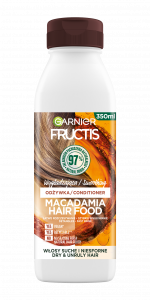 Garnier Fructis Hair Food Macadamia Smoothing Conditioner for Very Dry Hair (350mL)