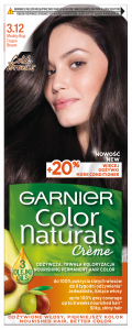 Garnier Color Naturals Creme Hair Color 3.12 Frozen Brown