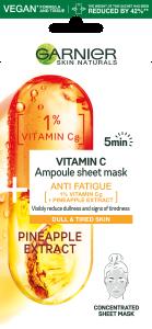 Garnier Anti-Fatigue Ampoule Sheet-Mask (15g)