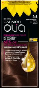 Garnier Olia No Ammonia Oil-based Permanent Hair Color 4.8 Chocolate Brown