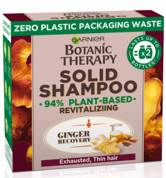 Garnier Botanic Therapy Ginger Recovery Revitalizing Solid Shampoo (60g)